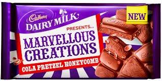Cadbury's Marvellous Creations Cola Pretzel Honeycomb 200g 50p Asda Caerphilly