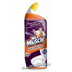 Mr Muscle Toilet Power Stain Destroyer 750ml only £1 @ WILKO