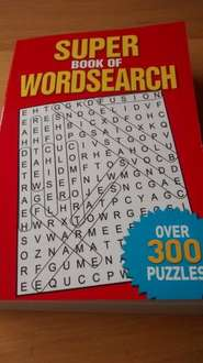Super book of wordsearch over 300 puzzles - £1  @ Poundworld