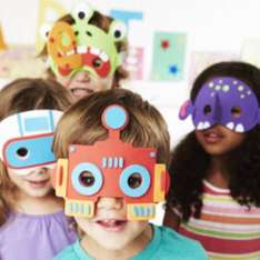 ELC Make Your Own Alien And Robot Masks (set of 4) £1 c&c @  Mothercare