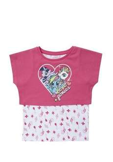 My little pony 2 in 1 T-shirt. Only 3-4 and 4-5 sizes available @ tesco clothing for £4.50