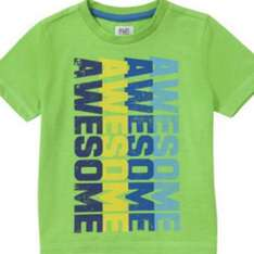 F&F Awesome Print T-Shirt £1 at tesco clothing