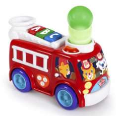 Bright Starts Having A Ball Roll And Pop Fire Truck £9.99 reduced from £19.99 @ Mothercare