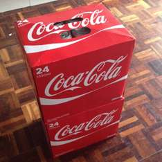 48 Coca-Cola cans for £13 @ Farmfoods
