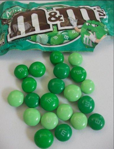 M&Ms dark mint 42.5 g  also - peanut butter and pretzel 69p @B&M