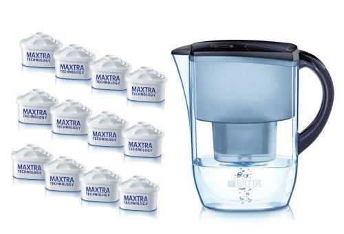 BRITA Fjord Cool Midnight Blue Water Filter Jug Annual Pack £34.30 @ Amazon