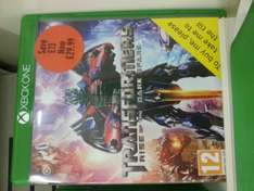 Transformers Rise of the Dark Spark - Xbox One £29.99 @ Sainsburys