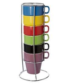Linea Block Colour Stack Of 6 Mugs was £20 Now £6 @ house of Fraser Free c&c BACK IN STOCK