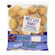 Baby potatoes 1Kg - half price - 67p @ Tesco