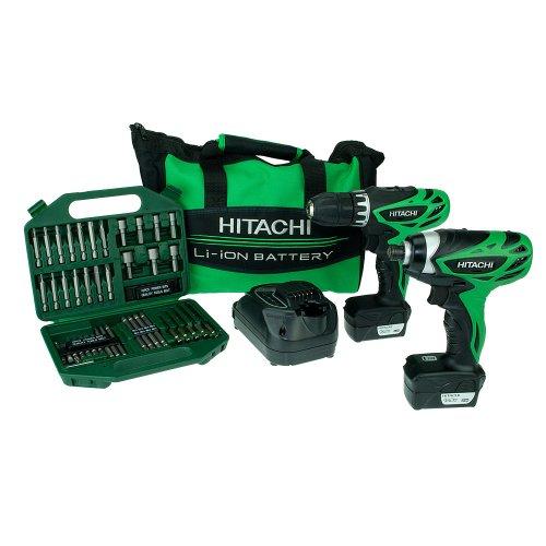 Hitachi KC10DFL 10.8V Cordless Li-Ion Drill Driver + Impact Driver + Hitachi 710000 42 Piece Bit and Drill Set  ALL for £114.99  inc Del @ Costco