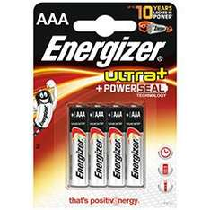Energizer 4xAAA - 2 packs (8 total) £4 instore @ Tesco