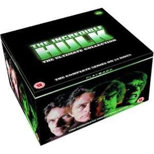 The Incredible Hulk: The Complete Seasons 1-5 DVD £16.70  @ amazon