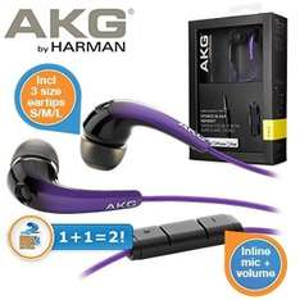 AKG noise canceling headphones £19.95 + £7.95 delivery @ iBood