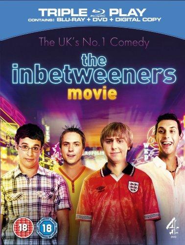 The Inbetweeners Movie Triple Play (Blu-ray + DVD + Digital Copy) £6.30 (free delivery £10 spend/prime/Amazon locker)