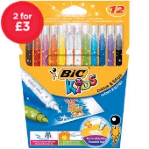 Various Stationery (Crayola, Bic, Sharpie, Pritt Sticks) 2 for £3.00 @ Asda Direct Free C&C