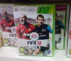 Fifa 12 for Xbox 360, £1 in Poundland