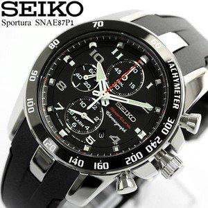 Seiko Men's Sportura Quartz Watch Chronograph £148.80 @ Amazon