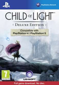 Child of Light: Deluxe Edition (PS4 + PS3) £9.99 Online and Instore @ Grainger Games