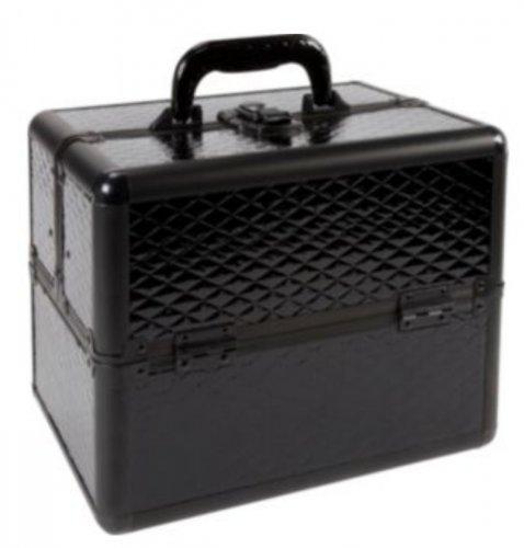 Pretty Pink Black Aluminium Cosmetics Case - Large £11.99 @ Argos