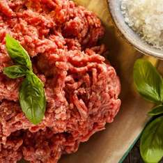 Irish Grass Fed Beef Mince - 400g  99p a pack (10 max per customer) (£25 minimum spend) (£3.95 delivery)