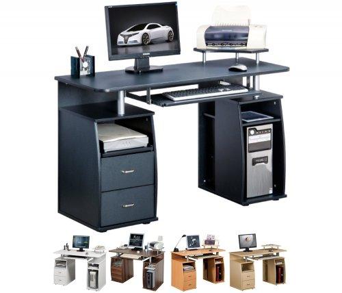 Piranha Trading UK Black, White, Beech, Walnut and Maple Computer Desks - £48.95 @piranha_trading/eBay
