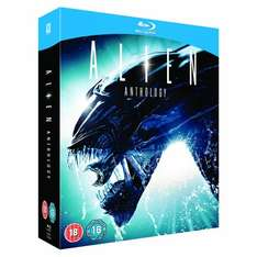 Alien Anthology Blu-Ray boxset - £9.99 delivered from Tesco direct