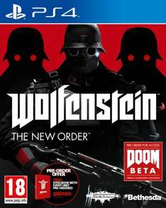Wolfenstein: The New Order (PS4) £24.99 (XB1) £26.99  pre-owned Grainger Games