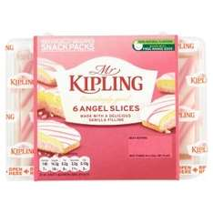 Mr Kipling Slices and Cakes (6 Pack) Originally priced @ £1.00 each now 3 for £2.00 so 67p each @ Asda