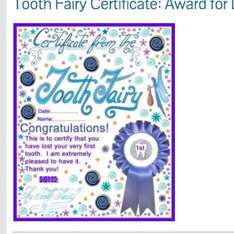 Tooth Fairy letters, certificates, envelopes & More FREE to print @ www.rooftoppost.co.uk other things to print not just Tooth Fairies!!