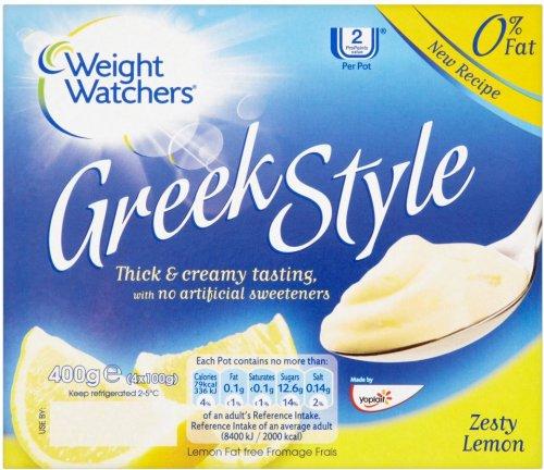 Weight Watchers Greek Style 0% Fat Yogurt (4 x 100g) was £1.98 now £1.00 (Rollback Deal) @ Asda