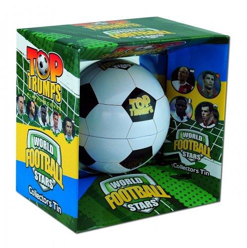 Top Trumps - World Football Stars Collector Tin £9.32 via Amazon & Free Delivery through Amazon Prime