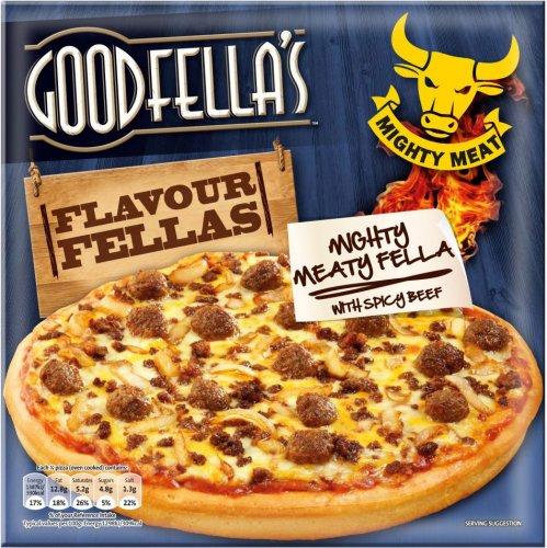 Goodfella's The Hotfella (414g) & The Meaty Fella (395g) Pizza's was £2.50 now £1.25 @ Asda