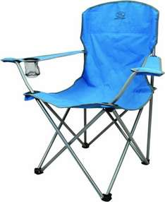 Highlander Folding Camping Chair Teal Blue £5.19 each or 2 for £10.38 delivered @ Amazon
