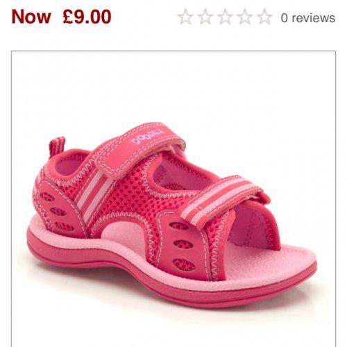 Clarks Doodles sandals half price now £9!!! @ John Lewis