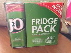 J20 Apple & Raspberry 6 cans £1.99 @ Home Bargains