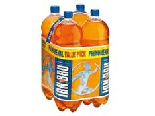4 Pack 2 Litre Barr Irn-Bru (Regular or Sugar Free) £3.69 @ Lidl