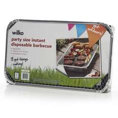 Party size Instant Disposable BBQ @ Wilkos Instore