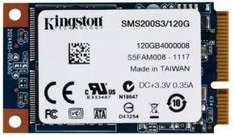 Kingston SSDNow 120GB mSATA £52.98 @ ebuyer