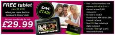 "Get a 12 month Tastecard and a free Avoca 7"" tablet (delivered) for just £34.98!"