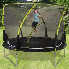 Plum 10ft Whirlwind Trampoline and Enclosure @ TrampolinesWorld £203.95