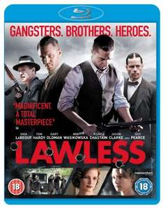 Lawless blu ray £4.50 @ amazon. Min £10 spend for free del.