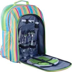 Camping Picnic Set with Cool Bag Backpack - 2 Person was £16.99 now £9.99 @ Argos
