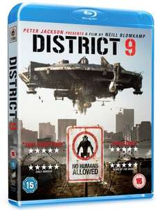 District 9 [Blu-ray] £4.40 @ Amazon (free delivery £10 spend/prime)