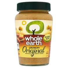 Whole Earth Peanut Butter 454G £2.50 at Tesco
