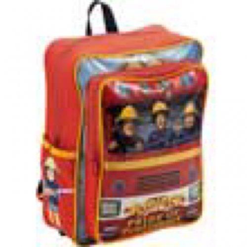 Fireman Sam Boys' Red Backpack £0.99 @ Argos In Store