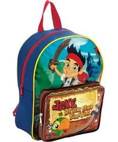 DON'T BLAME ME IF YOU DON'T FIND IT!! Disney Jake and the Never Land Pirate Boys' Backpack @ Argos 99p (WAS £8.99)
