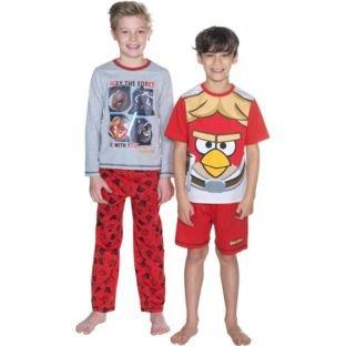 Star Wars vs angry birds 2 pack pyjamas 99p at argos