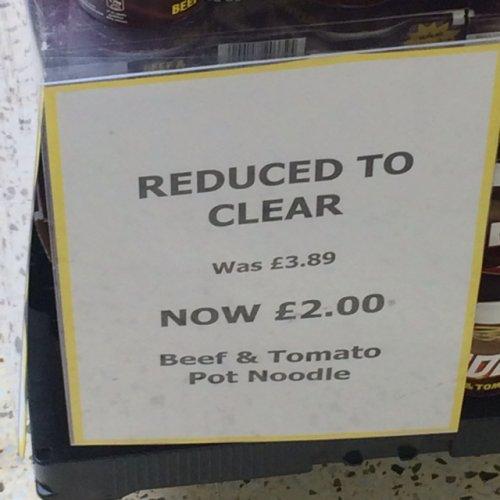 4 Pot Noodles £2 instore @ Tesco