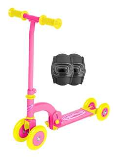 Ozbozz My First Scooter & Pad Set (PINK only) £10.30 @ Amazon delivered