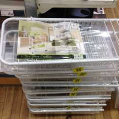3 tier wire trolly for kitchen for £4 instore @ Robert Dyas